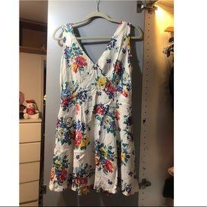 Vintage Betsy Johnson floral dress